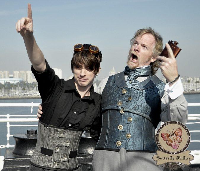Men's Steampunk Worthy Cinchers!