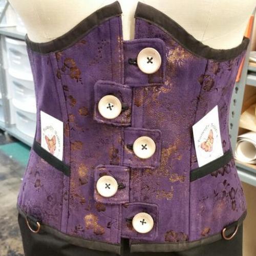 Purple Floral 28″